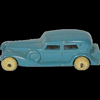 """Toy Slush Car w/ White Rubber Wheels, 3 1/4"""" long"""