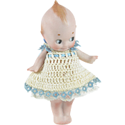 "All Bisque Kewpie, 4"" tall"