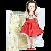 """Arranbee Nancy Lee, A/O, Hard Plastic, 1950's, 17"""" tall, 2 Outfits"""