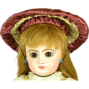 Antique Doll Hat for Medium Sized Doll