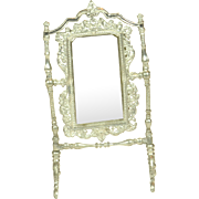 """Standing Dressing Mirror for Doll House, 4"""" tall"""
