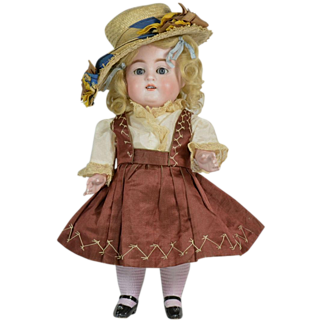 "Kestner All Bisque #150 Doll, 11"" Tall, Excellent Condition, Ca. 1900-on"