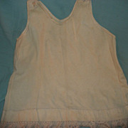 Large Wool Full Slip for large Bisque Dolls Free P&I US buyers