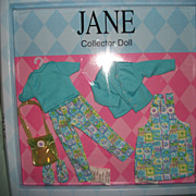 Tonner Jane Doll Outfit MIP Free P&I US Buyers