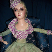 "28"" Boudoir Bed Doll Original outfit Free P&I US buyers"