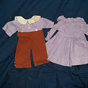 Adorable Boy & Girl doll Outfits for Raggedy Type or compo dolls Free P&I US BUYERS