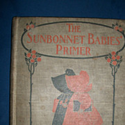 1902 The Sun Bonnet Primer book Eulalie Osgood Grover free p&I US Buyers