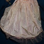 Old Taffeta hoop Skirt for Effanbee Alexander Fashion doll Free P&I US Buyers