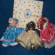 3 Vintage Hollywood Dolls Free Postage & Insurance