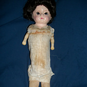 "17"" Old Papier- Mache Doll Free P&I US Buyers"