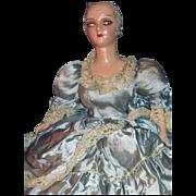 "28"" Boudoir Doll Lashes needs TLC  free P&I US Buyers"
