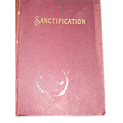 1897 Sanctification Rev Carrdine Book Free P&I US Buyers