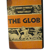 1952 Illus Walt Kelly by Riley The Glob DJ Free P&I US Buyers