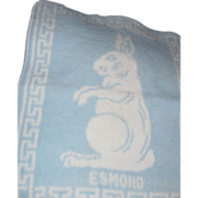 Small Esmond Bunny blanket for Dy Dee Doll Free P&I US Buyers