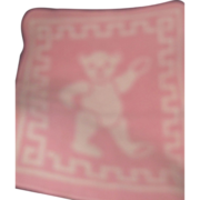 Small Pink Teddy Bear  Dy Dee doll blanket Free P&I US Buyers