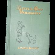 Rare Little Boy Philosophy Maria Talbot Illus book Free P&I US Byers