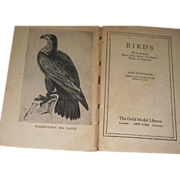 1922 Book Birds pictures of Audobon's Birds of America John Burroughs free p&i US Buyers