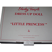Shirley Temple Danbury Mint little Princess Doll Outfit Free P&I US Buyers