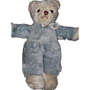 "Vintage 10"" Muzli Swiss Mohair Teddy Bear made for Woodwaed Lothrop Washingto DC free P&I US Buyers"