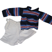 Very Cute 40's style Sport outfit for Alexander . Effanbee or friends free P&I US Buyers