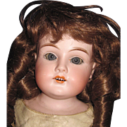 "20"" Old bisque head Doll Free P&I US Buyers"