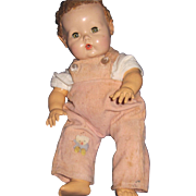 "Cute 11"" Dy Dee Baby doll For parts Early body Free P&I US Buyers"