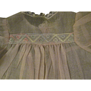 Sweet Pink Organdy Doll Dress  For Dy dee Baby doll & Friends Free P&I US Buyers
