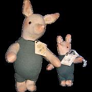 Winnie POOH 2  Numbered Piglets  John Wright Disney Free P&I US Buyers