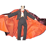 "Vintage Aritist Doll 18"" Count Dracula OOAK Free P&I US BUYers"