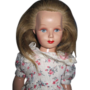"Beautiful 17"" Composition Monica Hollywood Doll Design Hansi Share Free P&I US Buyers"