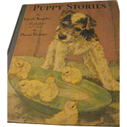 1934 Puppy Stories Illustrations Diana Thorne dog stories Enen Beaudry Free P&I US Buyers