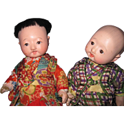 Two Adorable Japanese Baby Dolls Free & I US Buyers
