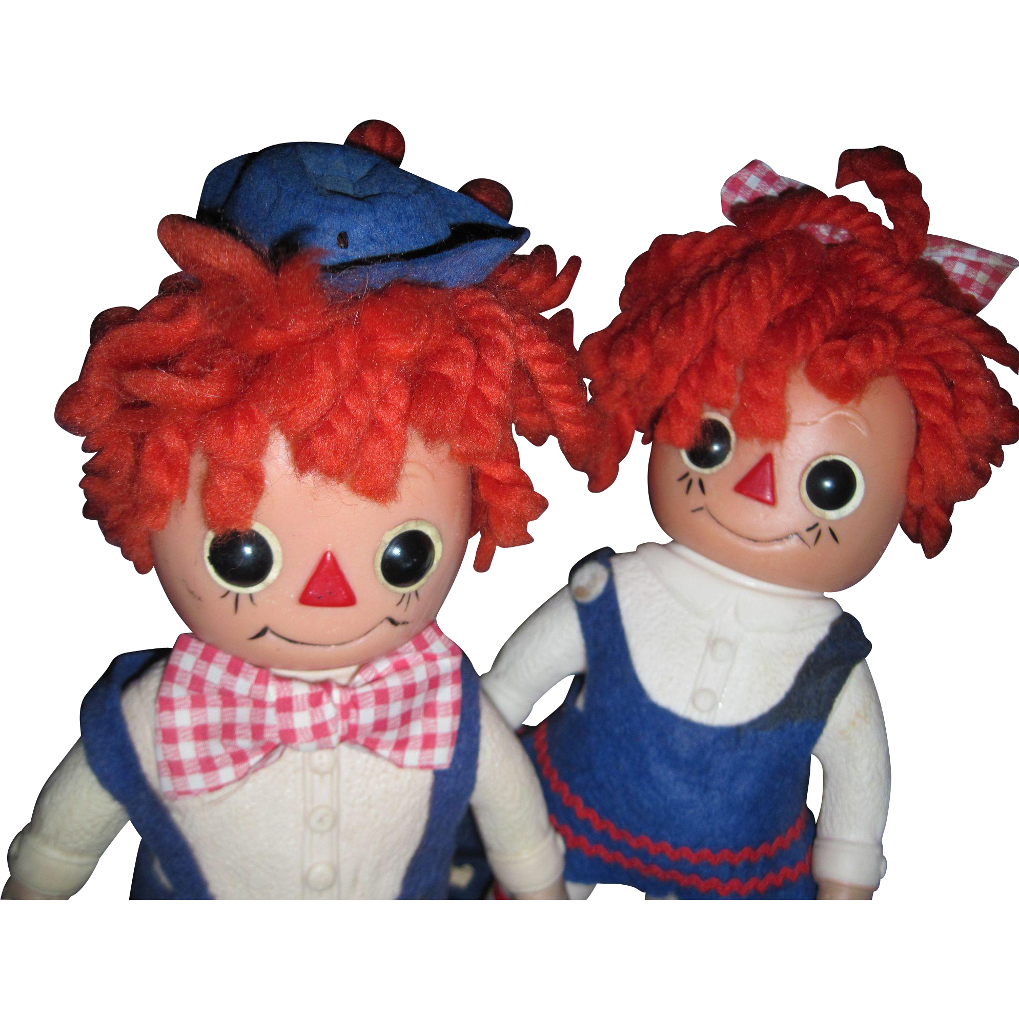adorable 1976 royalty raggedy ann u0026 andy doll banks free p u0026i us