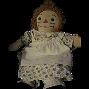 Sweet Georgene Raggedy Ann tagged Doll free P&I US Buyers