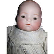 """Lovely 12"""" Hendren Bisque Baby Doll Free P&I US Buyers"""