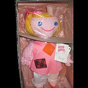 Wonderful Madame Alexander Cloth Funny Doll w/box Free P&I US Buyers