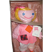 Wonderful Madame Alexander Cloth Funny Doll w/box Free P&I US Buyers