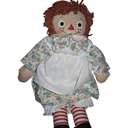 "Fantastic 18"" Raggedy Ann Doll CR Myrtle Grulle Georgene Novelties  Free P&I US Buyers"