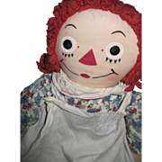 "18"" Georgene Raggedy Ann Doll  Free P&I US Buyers"