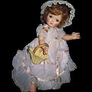 "15"" Hard Plastic Unmarked Eugenia Alexander R&B Doll Free P&I US Buyers"