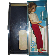 1965  Ideal Pos'n Tammy Doll w/phone booth  Free P&I US Buyers