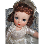 "Vintge Redhead Horsman 18"" Bride doll Free P&I US Buyers"