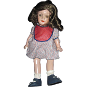 "14"" Compo R& B Tin eyes doll Free P&I US Buyers"