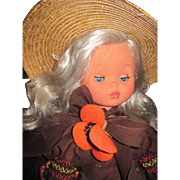"Lovely 17"" Furga Southern Belle Doll Free P&I US Buyers"