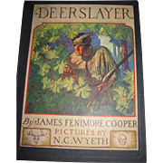 1929 Deerslayer Illustrated by N, C. WYETH Book Free P&I US Buyers