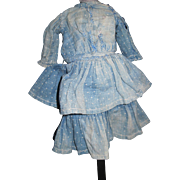 Clothes make the Doll Ruffled 1800's Dress for Bisque or China Doll Free P&I US Buyers