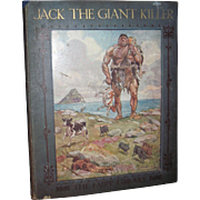 Jack The Giant  Killer book illustrated H. M. Brock Free P&I US Buyers