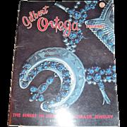 1975 Gilbert Ortega Indian Jewelry Bicentennial Issue Free P&I US BUYERS