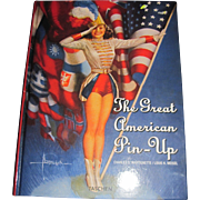 Great American PIN UP Book Martiganette / Meisel  Free P&I US Buyers