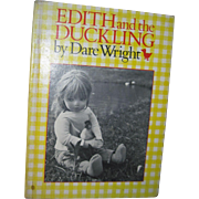 1982 Dare Wright    Edith and the Duckling   Illus Doll Story Free P&I US Buyers